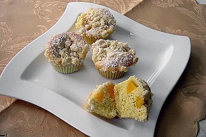 Goldige Pfirsichmuffins 4