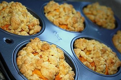 Goldige Pfirsichmuffins 20