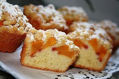 Goldige Pfirsichmuffins 1