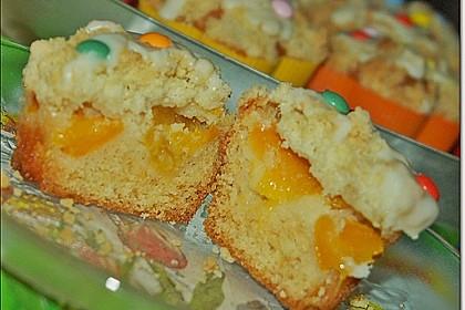 Goldige Pfirsichmuffins 31