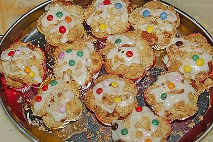Goldige Pfirsichmuffins 30