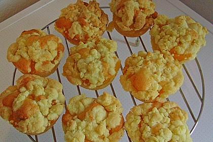 Goldige Pfirsichmuffins 33