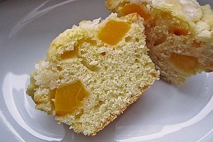 Goldige Pfirsichmuffins 8