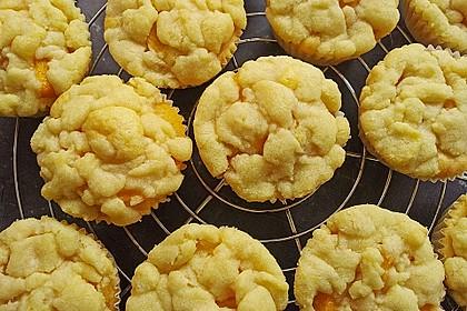 Goldige Pfirsichmuffins 48