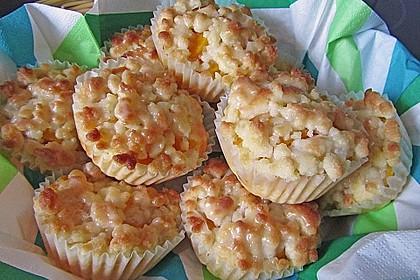 Goldige Pfirsichmuffins 11