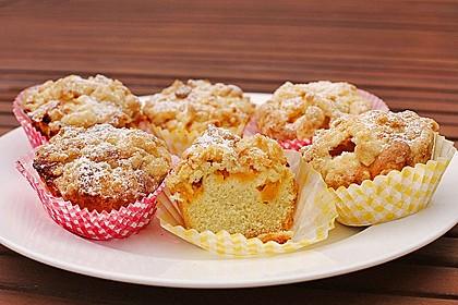 Goldige Pfirsichmuffins 2