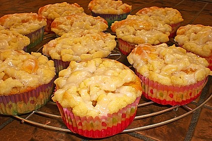 Goldige Pfirsichmuffins 15