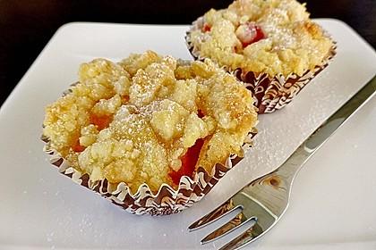 Goldige Pfirsichmuffins 10