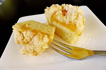 Goldige Pfirsichmuffins 12