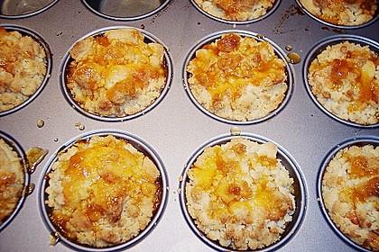 Goldige Pfirsichmuffins 74