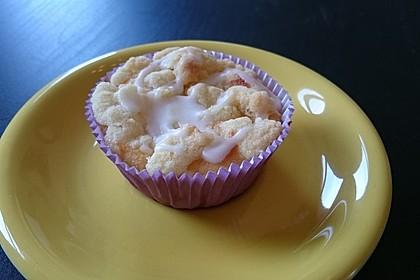 Goldige Pfirsichmuffins 23