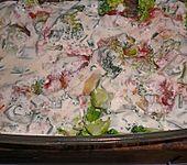 Brokkoli - Frischkäse - Lasagne (Bild)