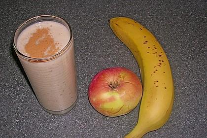 Apfel - Zimt - Bananen - Getränk 6