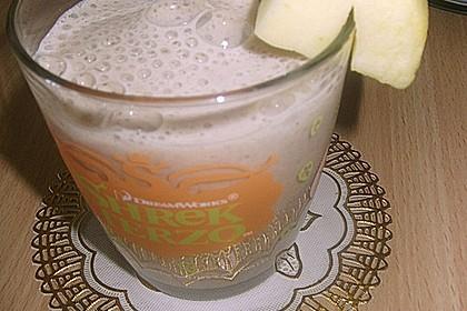 Apfel - Zimt - Bananen - Getränk 3