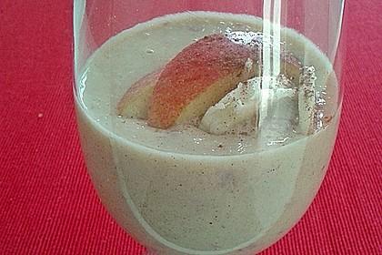 Apfel - Zimt - Bananen - Getränk 9