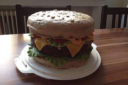 Hamburger - Kuchen