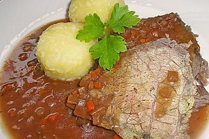 Sauerbraten nach Omas Rezept 1
