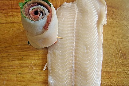 Limandes - Thunfisch - Roulade