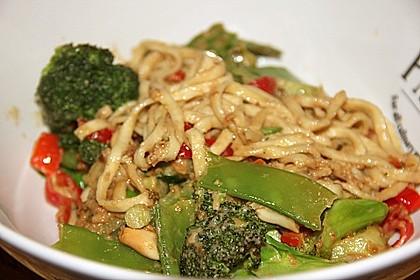 Thai Satay Noodles 1