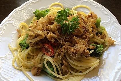Walnuß & Brokkoli Spaghetti