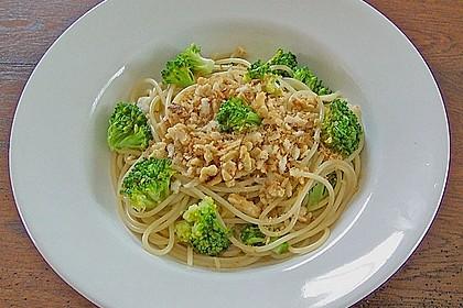 Walnuß & Brokkoli Spaghetti 2