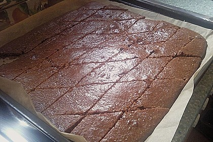 Lebkuchen vom Blech 30