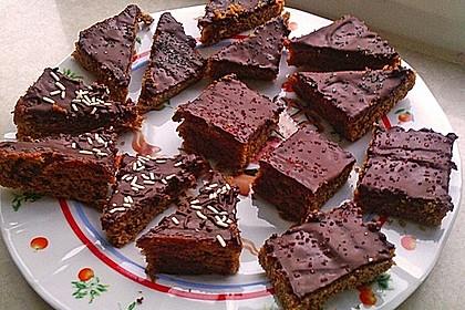 Lebkuchen vom Blech 24