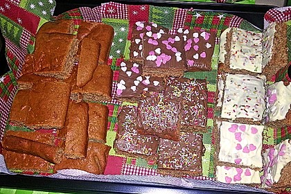 Lebkuchen vom Blech 10