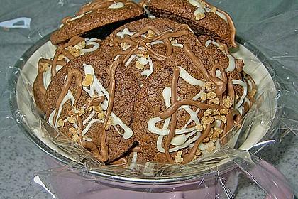 Schoko - Cookies mit Karamell - Kern 1