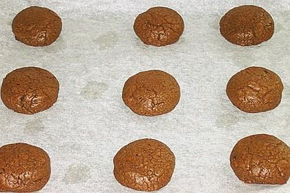 Schoko - Cookies mit Karamell - Kern 14