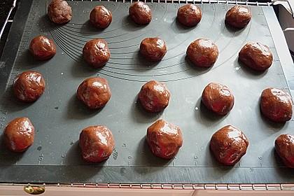 Schoko - Cookies mit Karamell - Kern 18