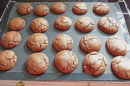 Schoko - Cookies mit Karamell - Kern 2