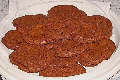 Schoko - Cookies mit Karamell - Kern 3