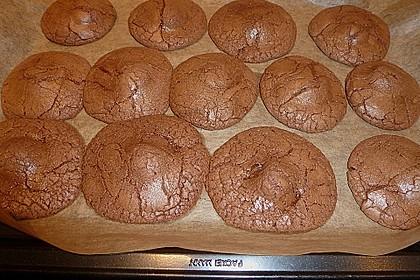 Schoko - Cookies mit Karamell - Kern 11