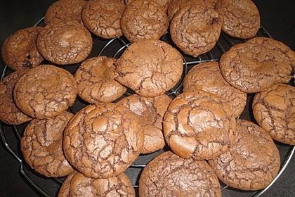 Schoko - Cookies mit Karamell - Kern 5