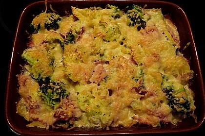 Blumenkohl - Brokkoli - Kartoffelauflauf 14