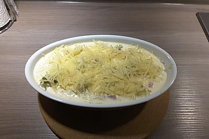 Blumenkohl - Brokkoli - Kartoffelauflauf 7