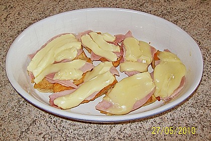 Überbackene Camembert - Schnitzel 9