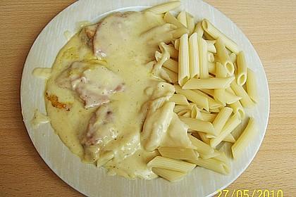 Überbackene Camembert - Schnitzel 7