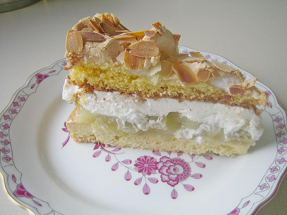 Rezept baiser sahne torte