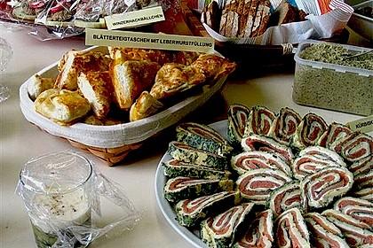 Lachsrolle mit Spinat und Frischkäse 45