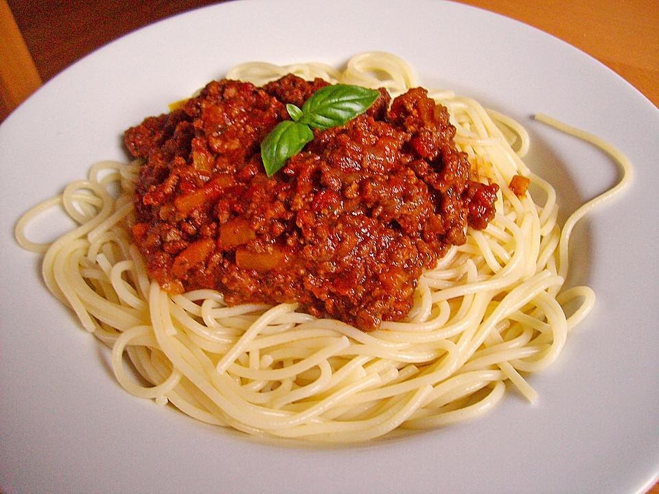 Спагетти болоньезе с куриным фаршем