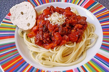 Spaghetti Bolognese 36