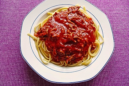 Spaghetti Bolognese 16
