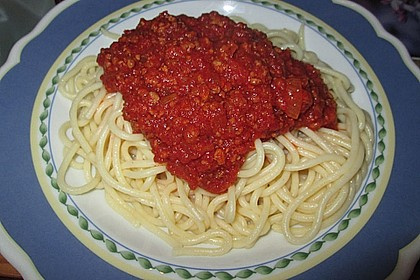 Spaghetti Bolognese 60