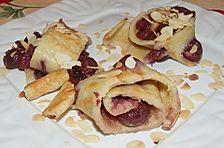 Kirsch - Pfannkuchen vom Blech