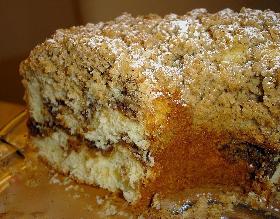 Sour Cream Coffee Cake (Rezept mit Bild) von Kathy36 | Chefkoch.de