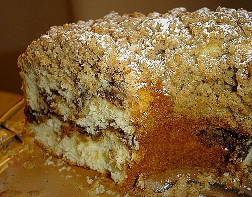 Sour Cream Coffee Cake 4
