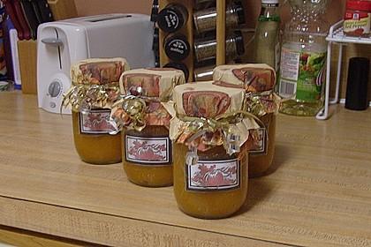 Kürbis - Zitronen - Marmelade 3