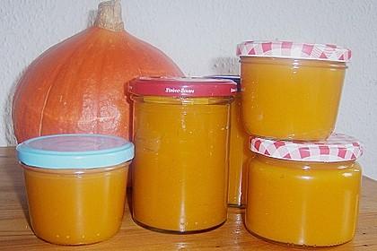 Kürbis - Zitronen - Marmelade 7